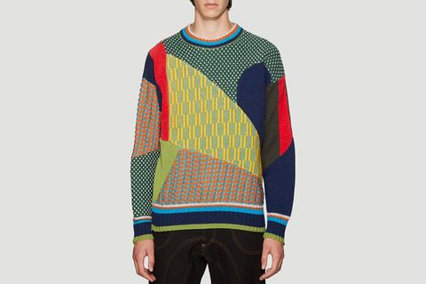 color blocked main Acne Studios Ahluwalia Studio By Walid