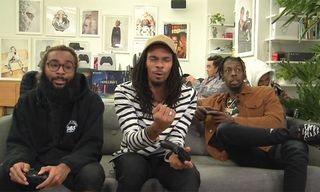 Watch Flatbush Zombies Flex Their Gaming Muscle on 'Pushing Buttons: The Mixer Edition'