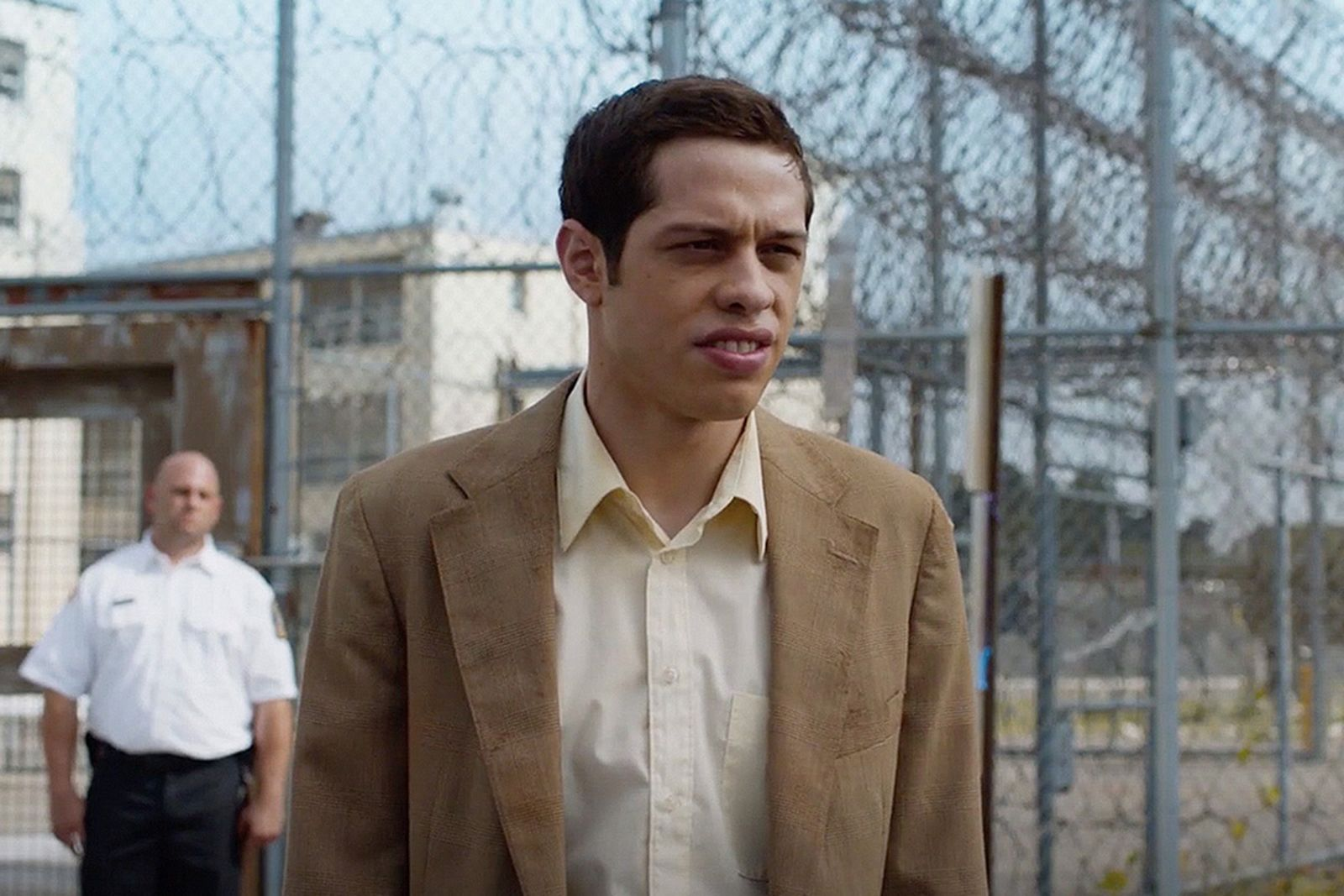 Pete Davidson outside prison 'The Jesus Rolls'
