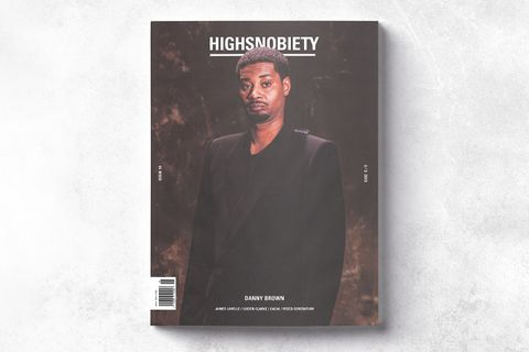 danny brown highsnobiety magazine issue 18 cover