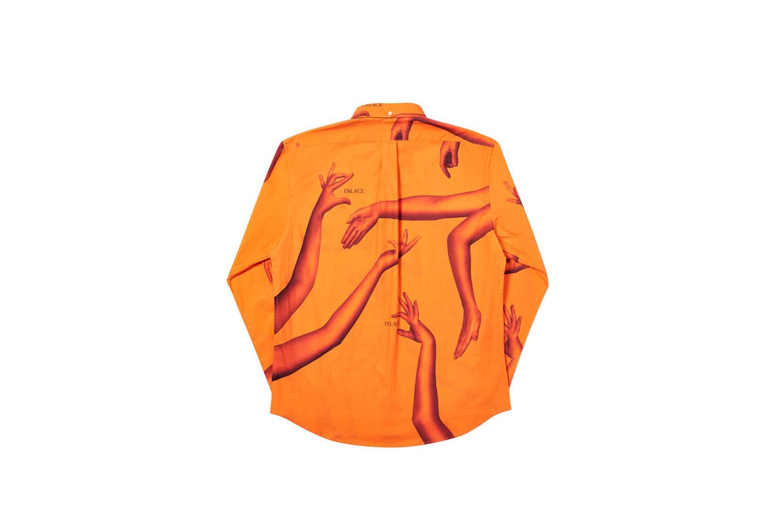 Palace 2019 Autumn Shirt Armbus orange back fw19