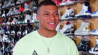 kylian mbappe sneaker shopping