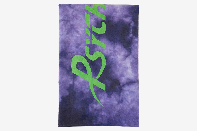 Purple Logo Beach Towel