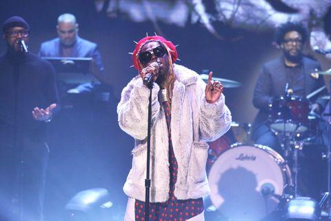 Lil Wayne performs Dreams on Jimmy Fallon