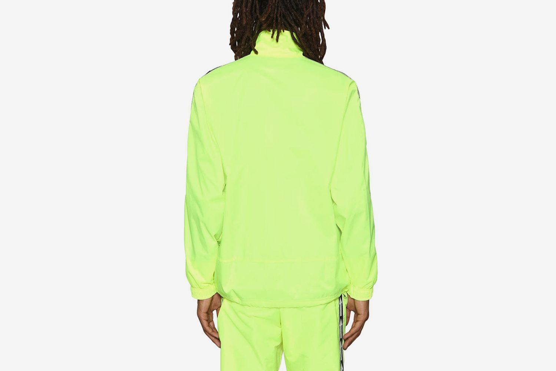 Arrows Neon Nylon Track Jacket