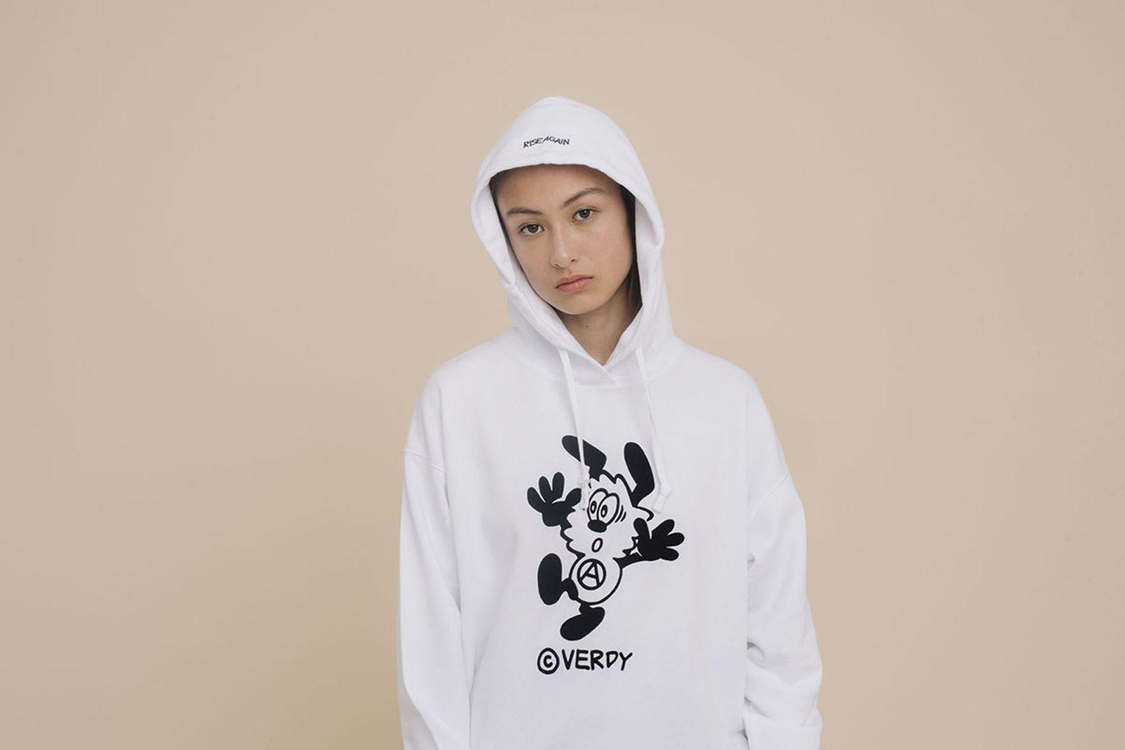 Uniqlo Verdy FW19 white hoodie