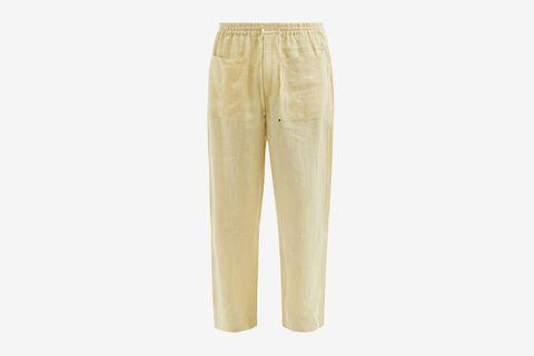 Harda Linen Wide-Leg Trousers