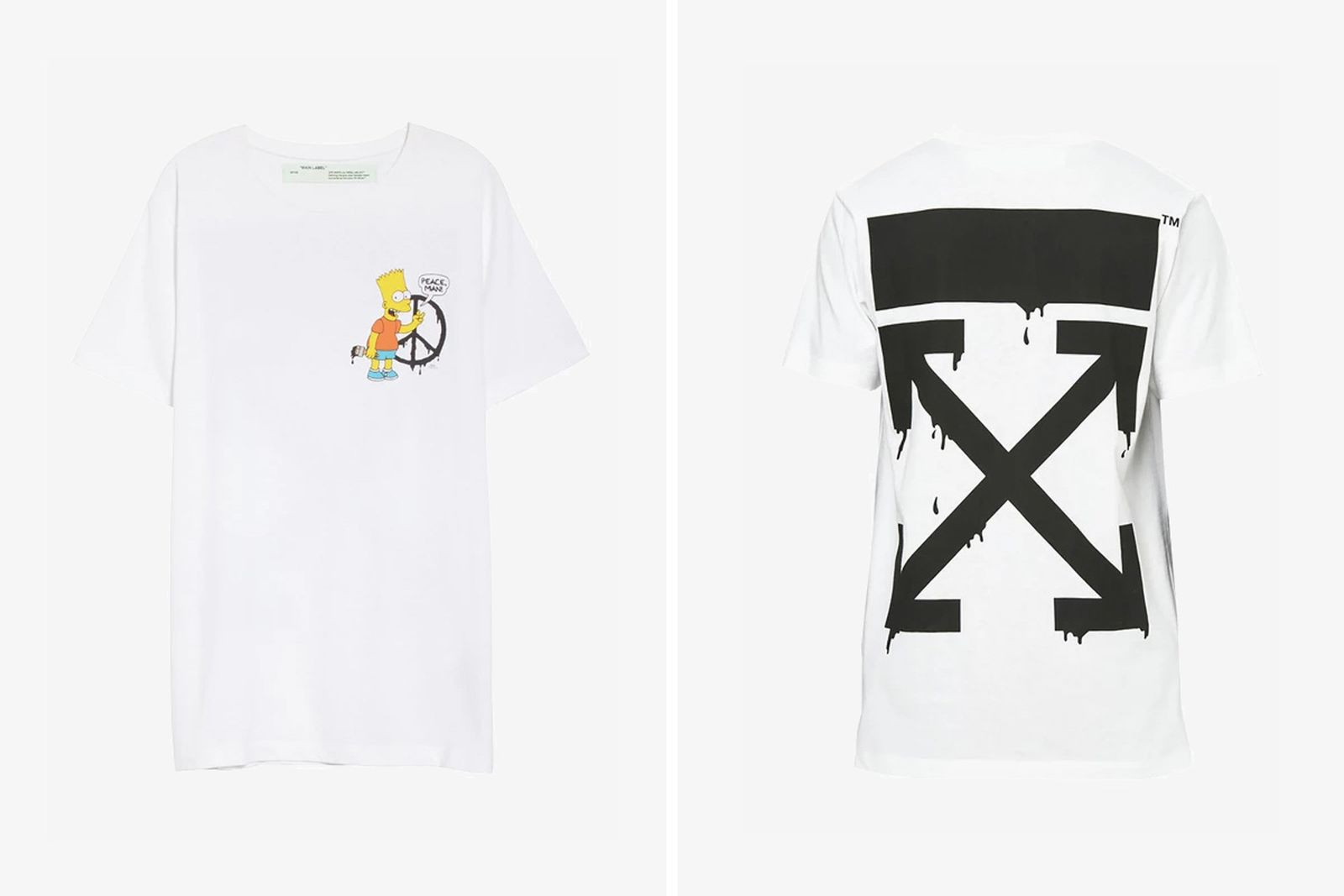 off white simpsons collection OFF-WHITE c/o Virgil Abloh