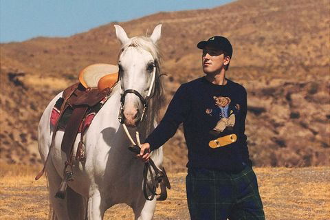"""382a365c The Internet Says the Palace x Ralph Lauren """"Kickflip"""" Polo Bear Is an  Instant Classic"""