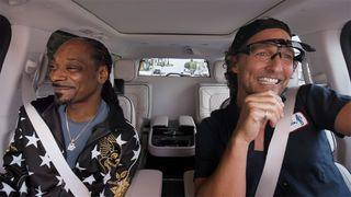 snoop dogg matthew mcconaughey carpool karaoke