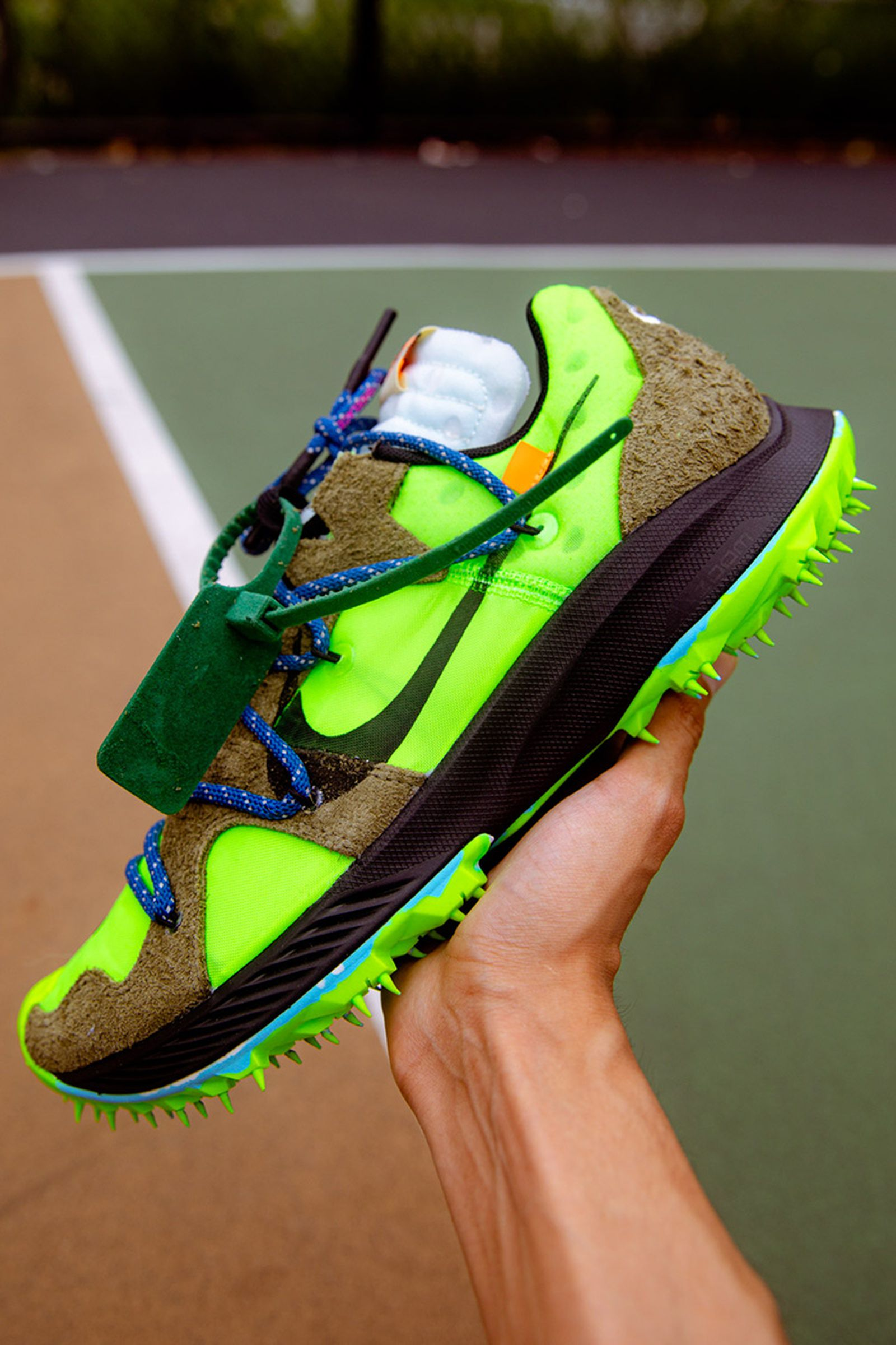 off white nike zoom terra kiger 5 release date price closer look OFF-WHITE c/o Virgil Abloh