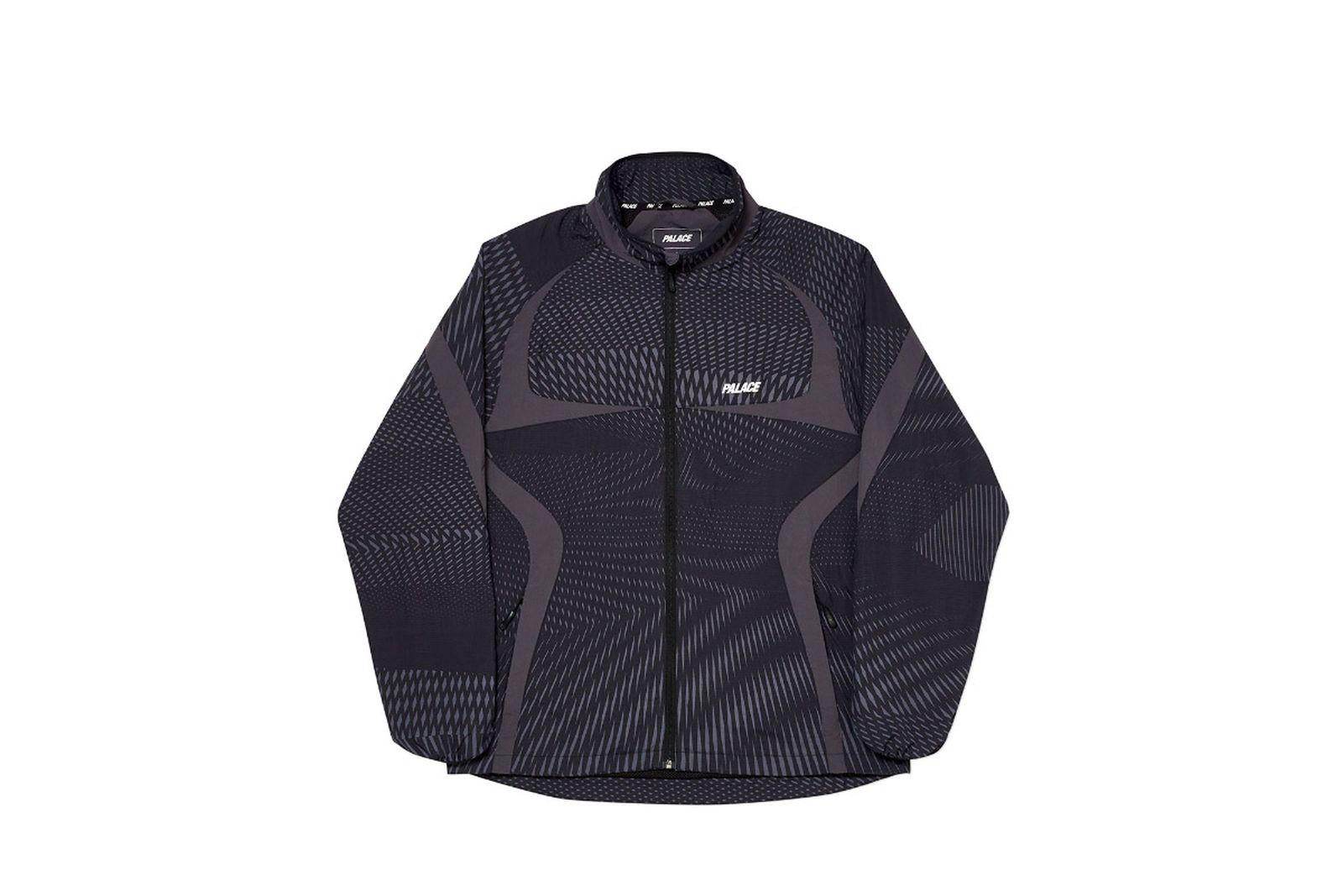 Palace 2019 Autumn Jacket Dazzler Shell black front