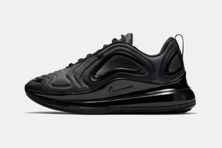 "buy popular 43dd3 f4b1b Nike s Air Max 720 Debuts in Stealthy ""Triple Black"""