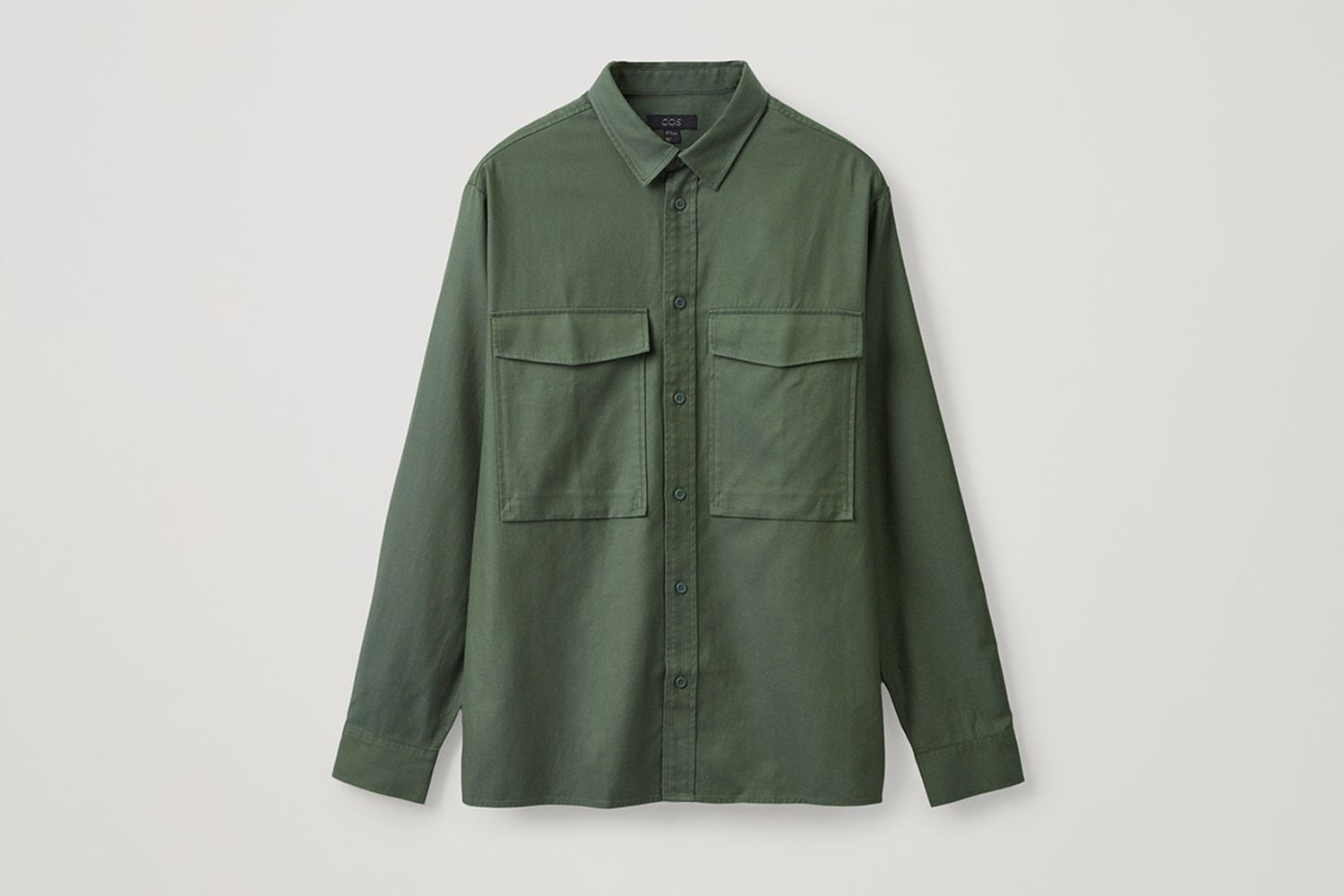 Relaxed Two-Pocket Shirt