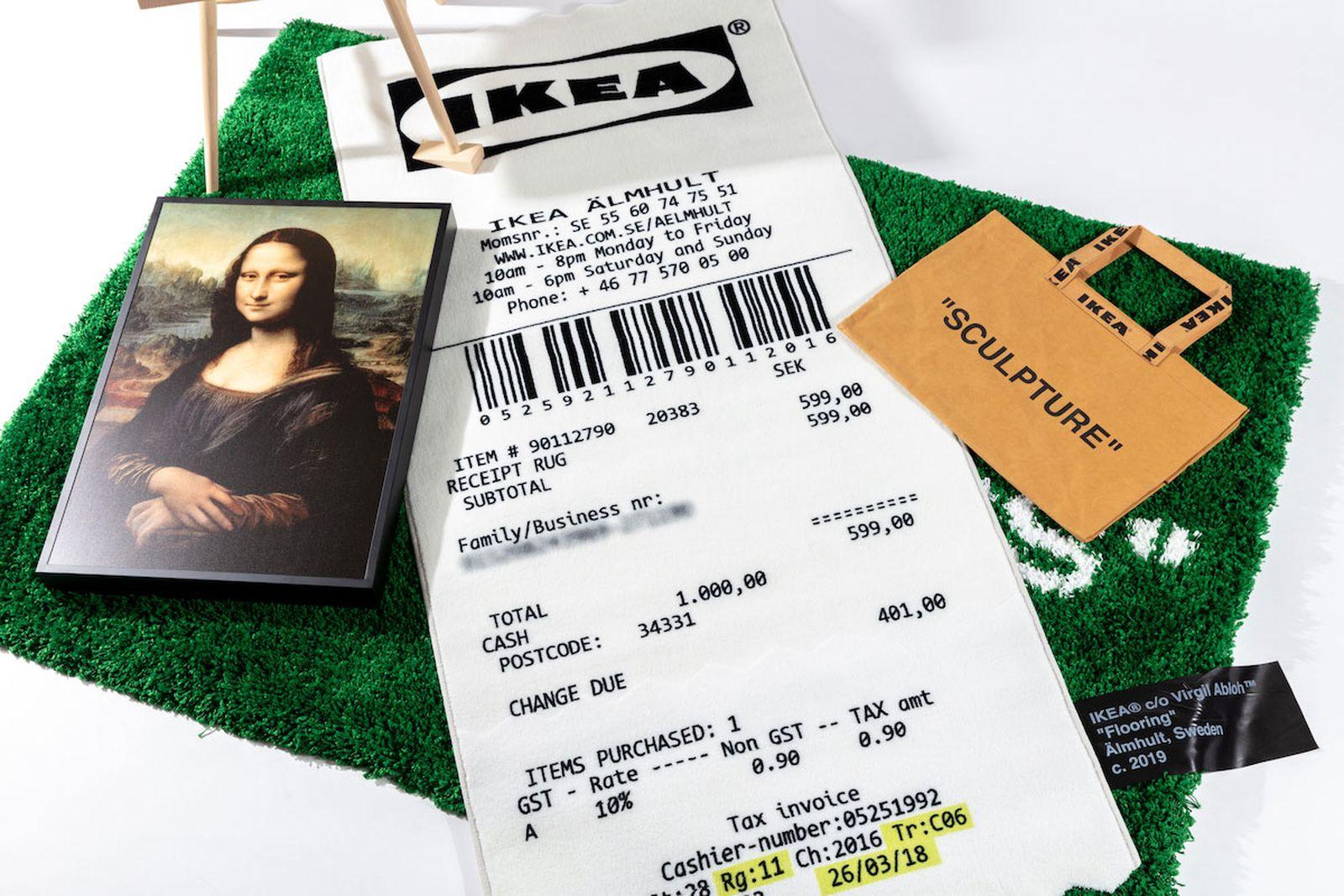 """IKEA Virgil Abloh """"MARKERAD"""""""