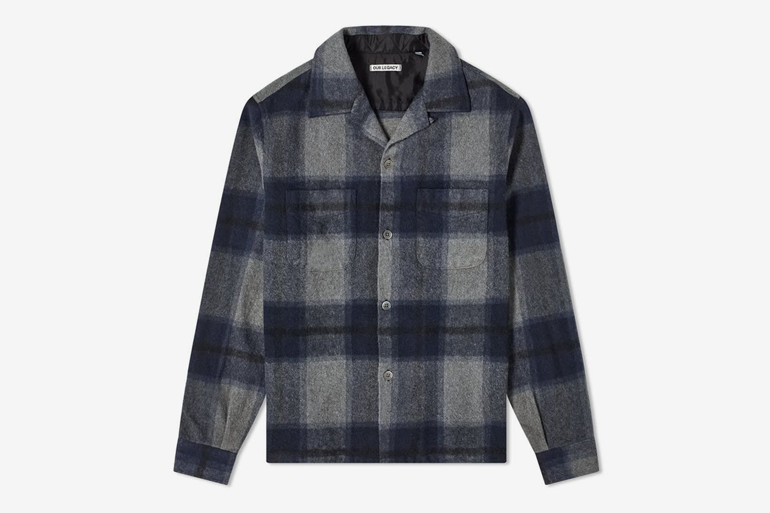 Heusen Check Overshirt