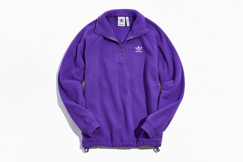 Polar Fleece Half-Zip Sweatshirt