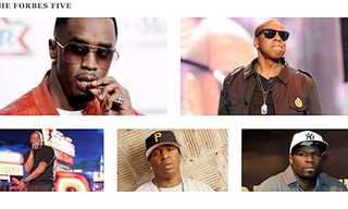 Forbes Five: Hip-Hop's Wealthiest Artists 2012