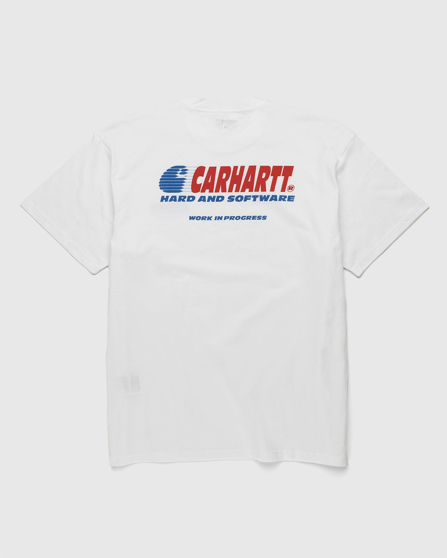 Carhartt WIP – Software T-Shirt White - Image 2