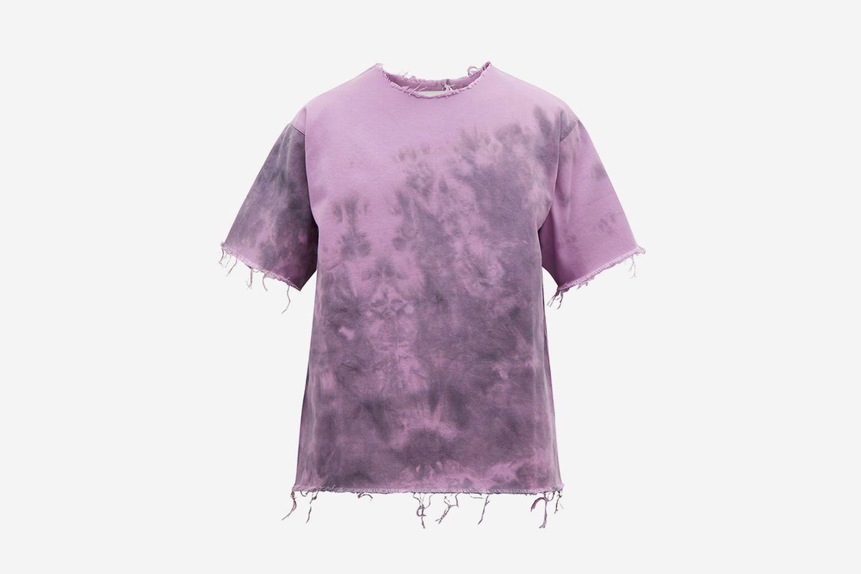Tie Dye Denim T Shirt