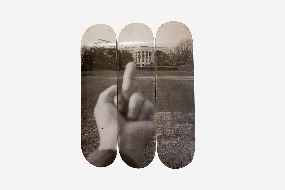 The White House Skate Decks (Set of Three), 2017