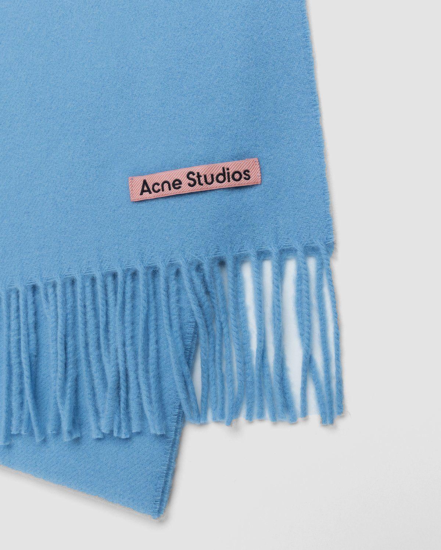 Acne Studios – Canada Skinny Scarf Azure Blue - Image 3