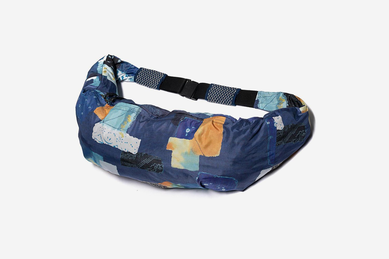 Boro Transfer Print Nylon Snuffkin Bag