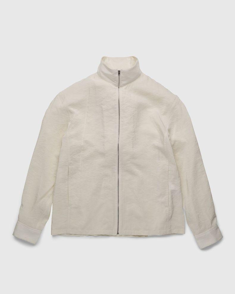 Lemaire – Dry Silk Shirt Blouson Off White