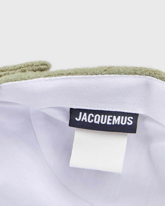 JACQUEMUS - La Casquette Jacquemus Dark Green - Image 4