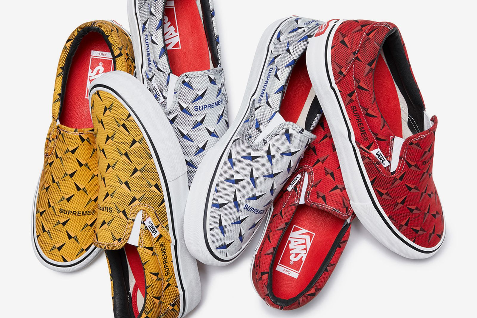 supreme vans every collaboration history 2019