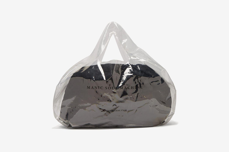 Logo-Print PVC Bag