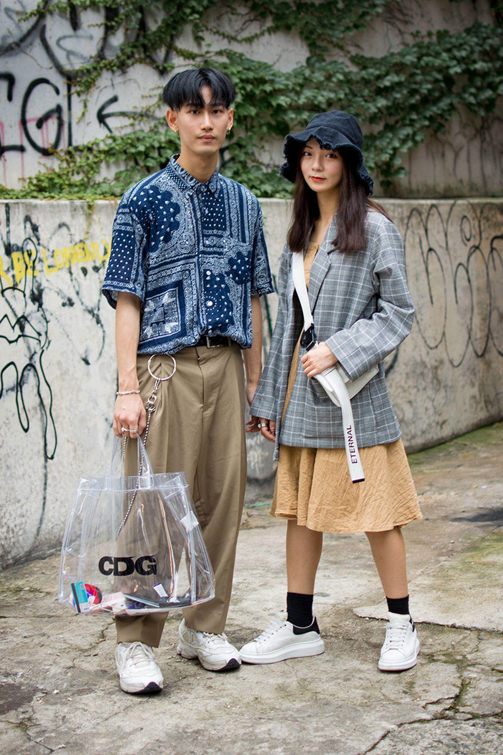 seoul street style july4 Balenciaga Children of the Discordance Gucci