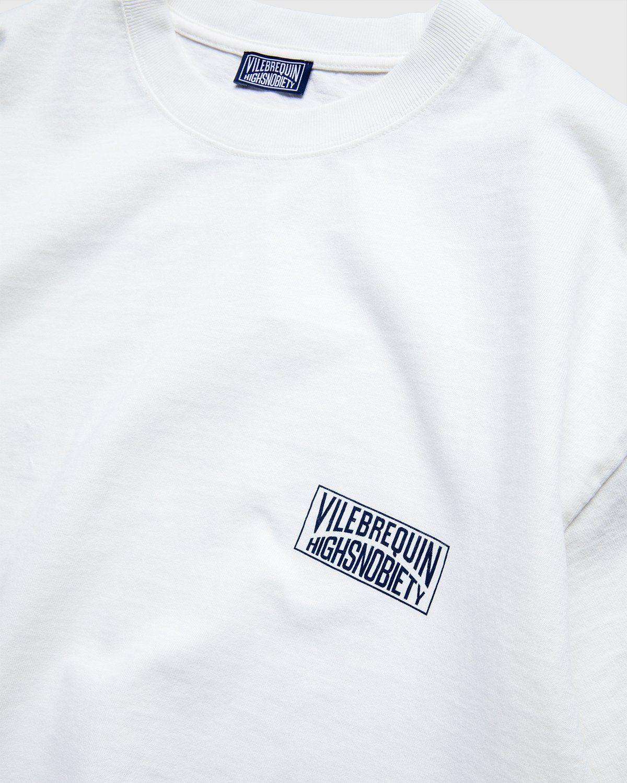 Vilebrequin x Highsnobiety — Logo T-Shirt White - Image 3
