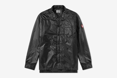 Light Down Shirt Jacket