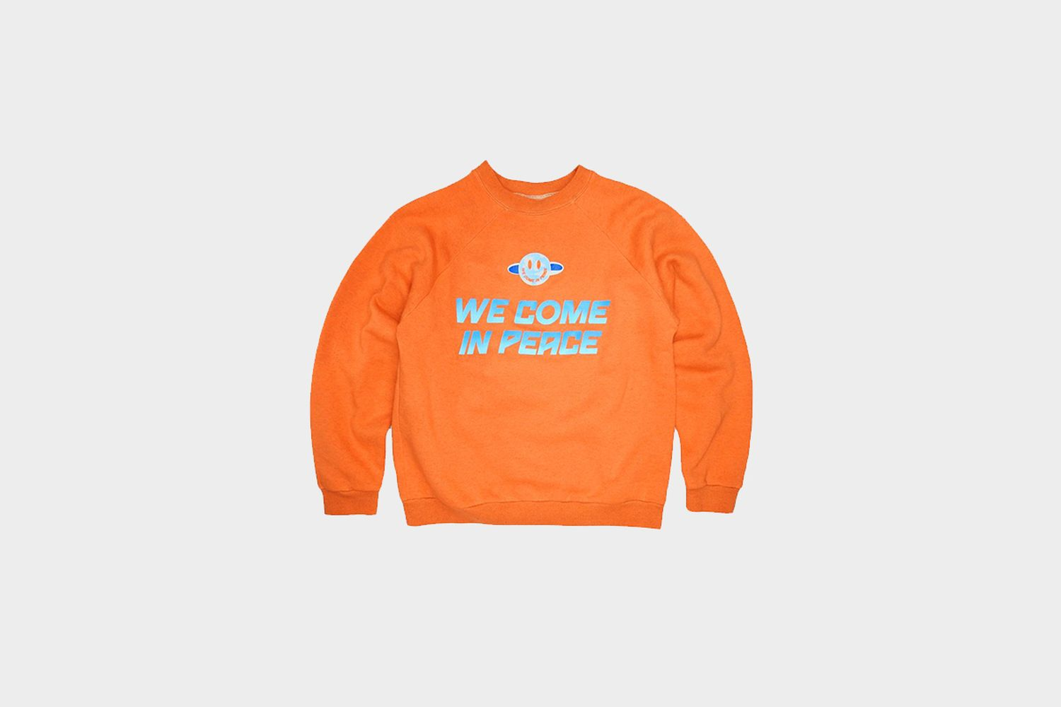 """WE COME IN PEACE"" Crewneck"