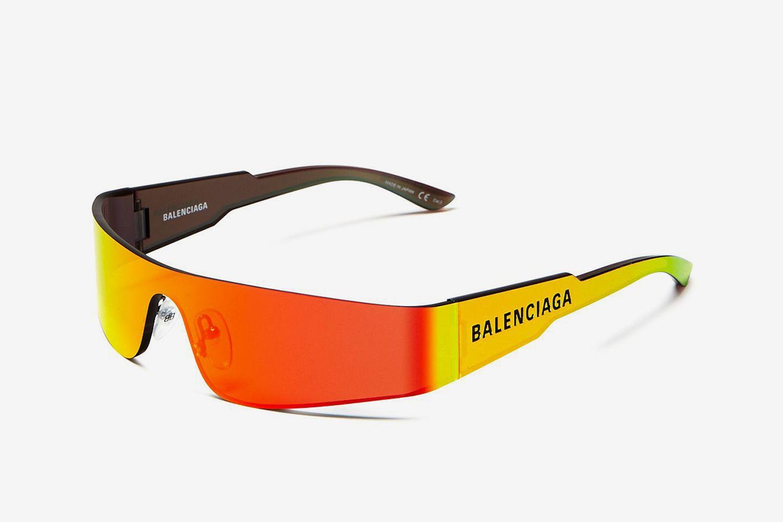 Wraparound Shield Sunglasses