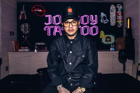 Johnboy tattoo artist highsnobiety JonBoy
