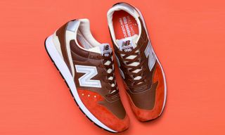 "New Balance, WHIZ LIMITED and mita sneakers Preview the MRL996 ""Orange Rust"""
