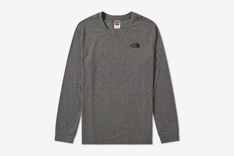 Long Sleeve Simple Dome Tee