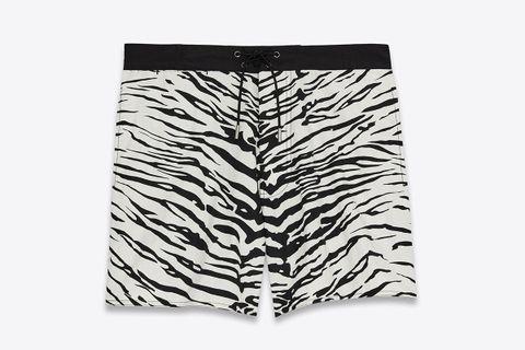 Zebera Print Swim Shorts