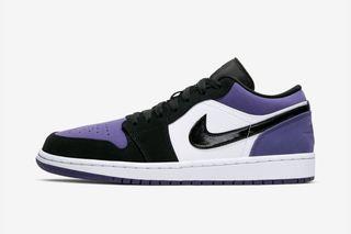 "newest 9d2d6 c6e05 Nike Air Jordan 1 Low ""Court Purple"": Rumored Release Info"