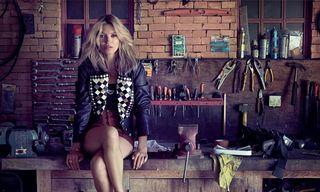 Kate Moss in Louis Vuitton Yayoi Kusama for Jalouse November 2012