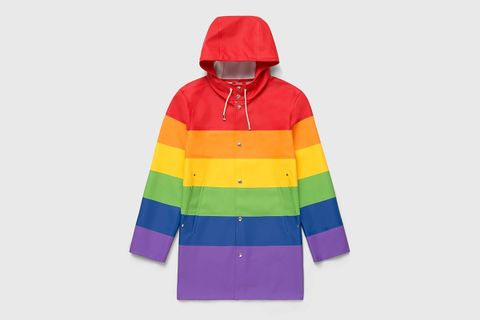 rainbow main LGBTQ Pride Month raincoat
