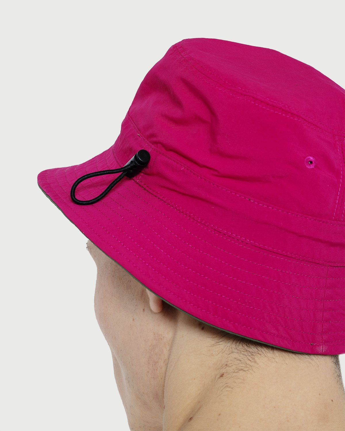 Gramicci -  Kids Shell Reversible Hat Olive/Raspberry - Image 4