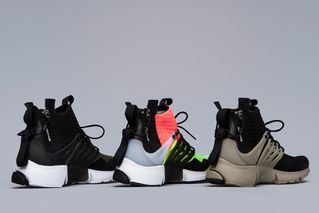 6f2f7c80f1 A Detailed Look at All Three Colorways of the ACRONYM x NikeLab Air Presto  Mid