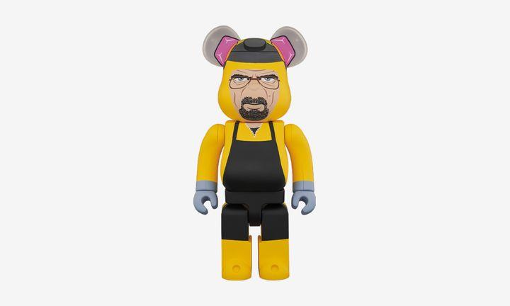 Medicom Toy Walter White Breaking Bad Bearbrick