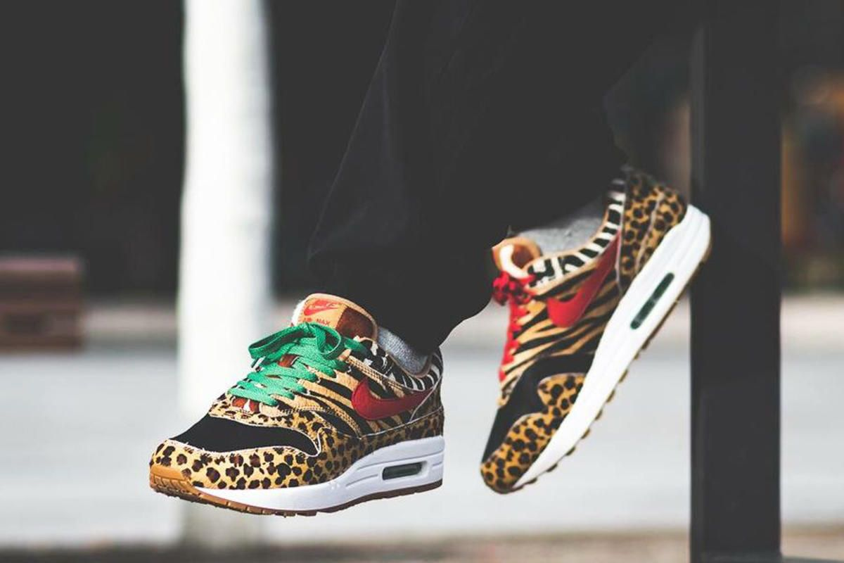 """Afew Is Restocking the Nike Air Max 1 """"Animal Pack 2.0"""" 1"""