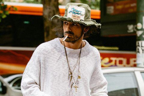 statement hats main Gucci Loewe Nicholas Daley