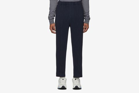 Light Pleated Trousers