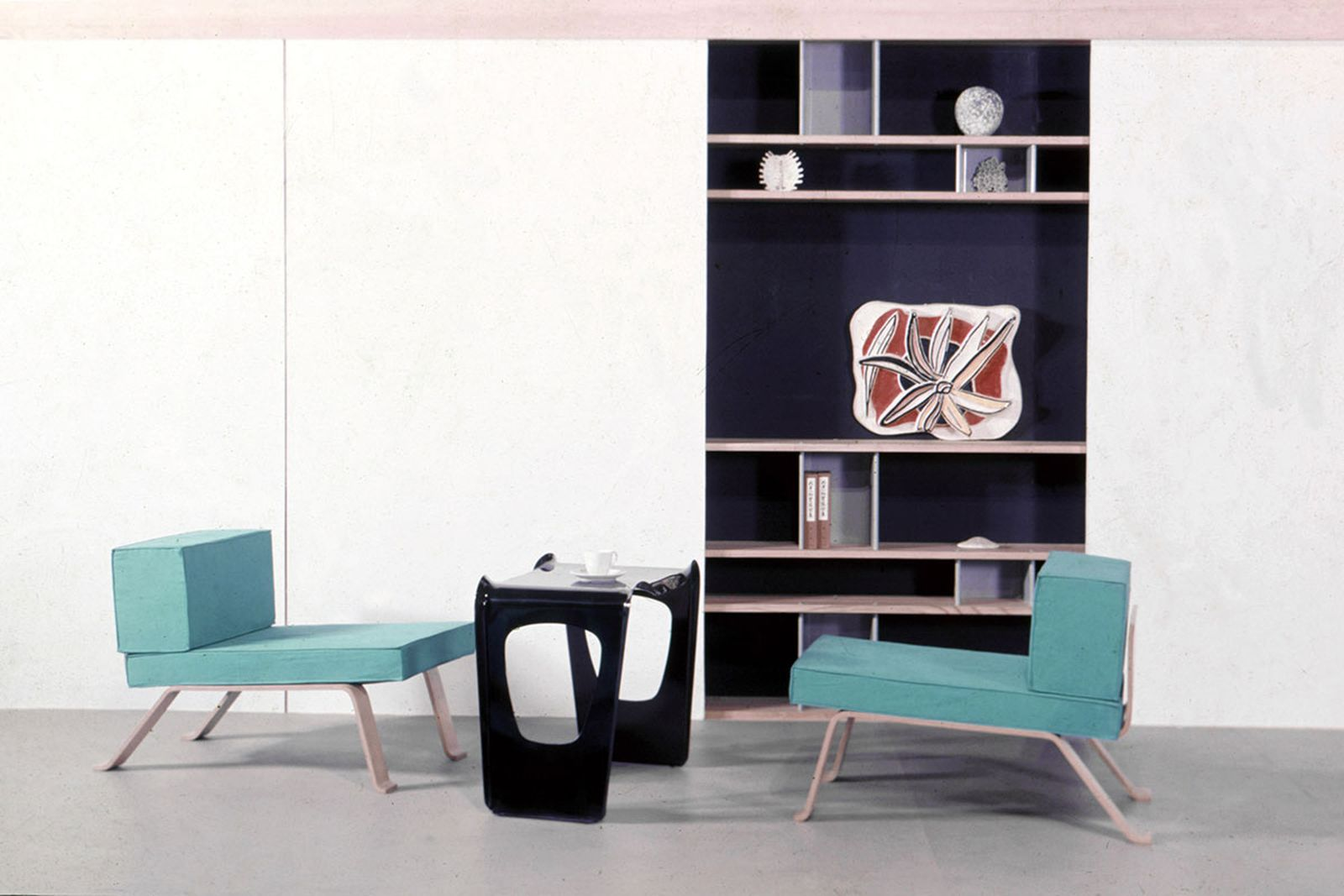 Charlotte Perriand reception room